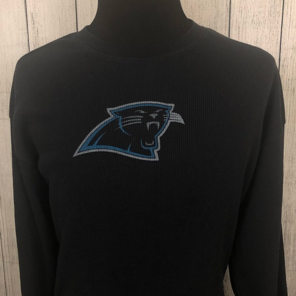 179bf4b5 Reebok Shirts | 2xl Black Carolina Panthers Thermal Shirt | Poshmark